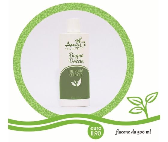 Bagno doccia th%c3%a0 verde cetriolo