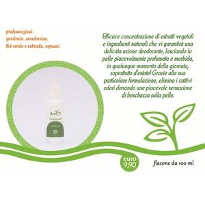 Deodorante profumazione agli agrumi