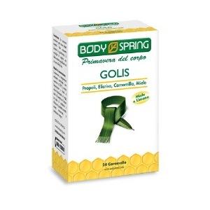 BODY SPRING GOLIS CARAMELLE 24 PEZZI