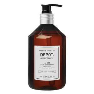 No.605 SAFE HANDSHAKE no-rinse hand sanitizer / Igenizzante mani DEPOT