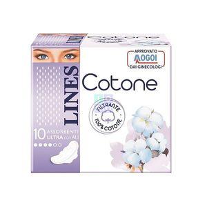 LINES - Cotone Ultra Con Ali Giorno: Assorbenti per flussi leggeri e normali