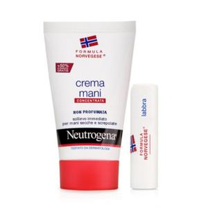 Neutrogena Mani Non Profumato 75ml + Lipstick Bundle 4,8g