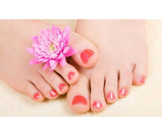 Smalto semipermanente piedi