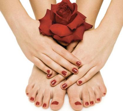 Manicure pedicure semipermanente