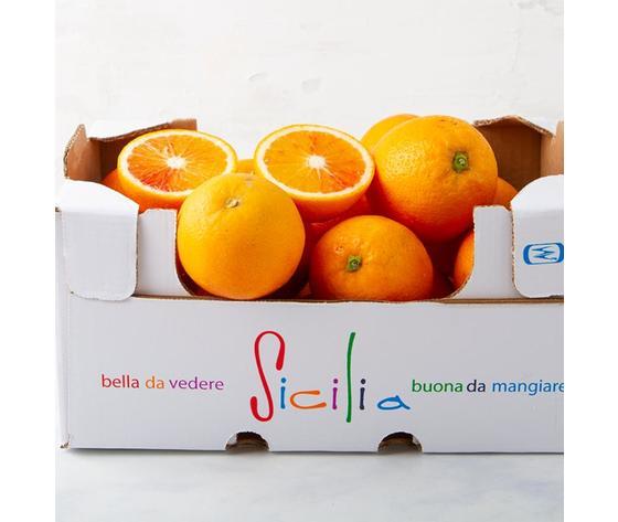 Cassetta arance tarocco