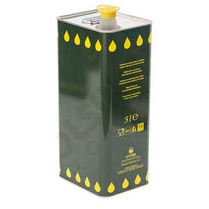 Olio Extra vergine di Oliva in latta da 5 litri