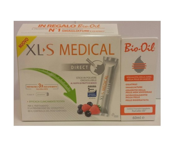 xls medical direct + bio oil 60ml OMAGGIO