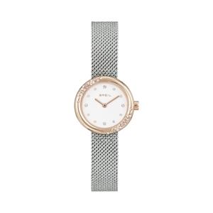 """Orologio donna solo tempo acciaio rosa braccialato - Breil Collezione """"Iris"""""""
