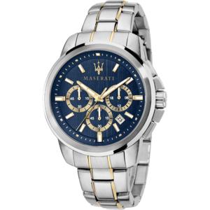 """Orologio crono uomo con bracciale in acciaio - Maserati Collezione """"Successo"""""""