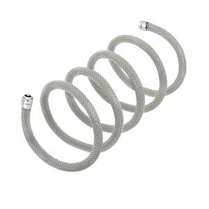 """Collana/Bracciale donna in acciaio lucido – 80 cm. – Breil Collezione """"New Snake"""""""