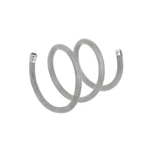 """Collana/Bracciale donna in acciaio lucido – 50 cm. – Breil Collezione """"New Snake"""""""