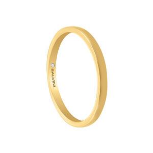 Fede oro giallo con diamante interno - Salvini Inlove       a partire da: