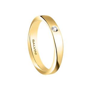 Fede oro giallo con diamante - Salvini Infinity diamond       a partire da: