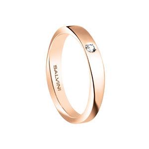 Fede oro rosa con diamante - Salvini Infinity diamond       a partire da: