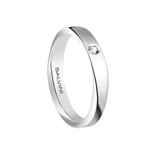 Fede oro bianco con diamante - Salvini Infinity diamond       a partire da: