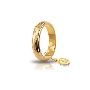 Fede oro giallo e oro bianco 7gr - Unoaerre Classica   a partire da: