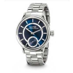 Orologio solo tempo uomo carica manuale con cinturino acciaio - Eberhard Traversetolo