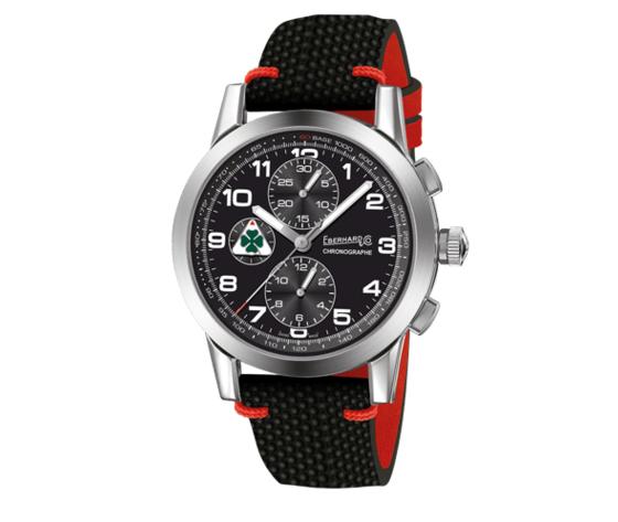 Orologio eberhard quadrifoglio verde 31070cp