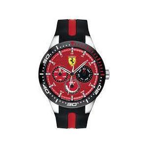 Orologio uomo in caucciù Ferrari collezione 'Redrev T'
