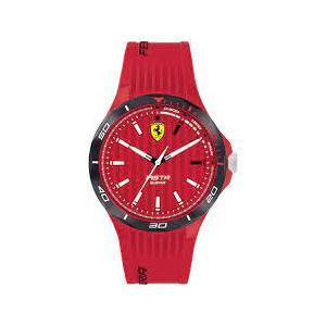 Orologio solo tempo in silicone Ferrari