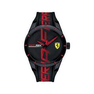 Orologio solo tempo uomo Ferrari collezione 'Redrev'