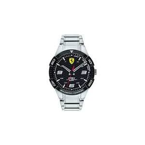 Orologio in acciaio uomo solo tempo Ferrari