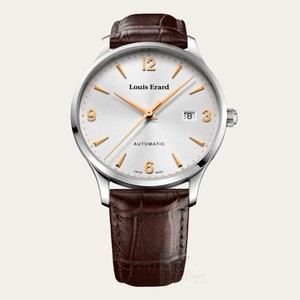 1931 Collection Mechanical hand-winding movement Small second Steel case 40mm - Louis Erard
