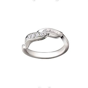 """Anello donna oro bianco e diamanti - Salvini Collezione """"Naturalia"""""""