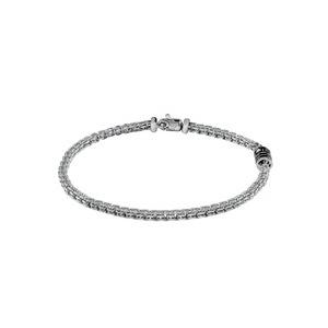 """Bracciale in argento con diamante - Salvini Collezione """"Funky"""""""