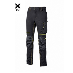 U-Power pantalone  atom black carbon
