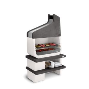 Palazzetti barbecue Up con basamento