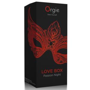 ORGIE LOVE BOX PASSION NIGHT KISSABLE GEL EFFETTO RISCALDANTE PER CLITORIDE