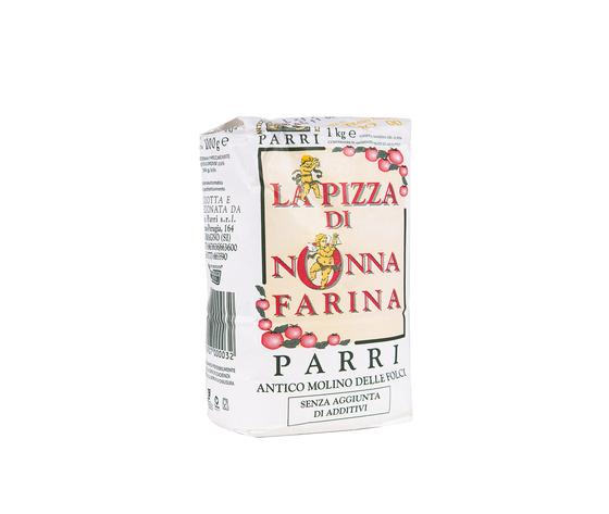 """Farina tipo""""00""""speciale per pizza confezione da kg 1 nonna farina verde"""