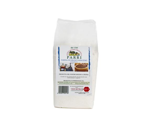 Farina di grano saraceno confezione da kg 1
