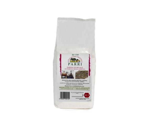 Farina di segale macinata a pietra confezione da kg 1