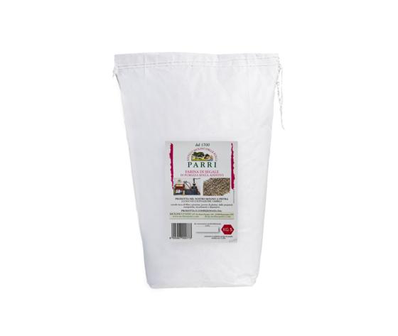 Farina di segale macinata a pietra confezione da kg 5