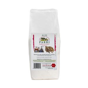 Farina di orzo macinata a pietra confezione da kg 1
