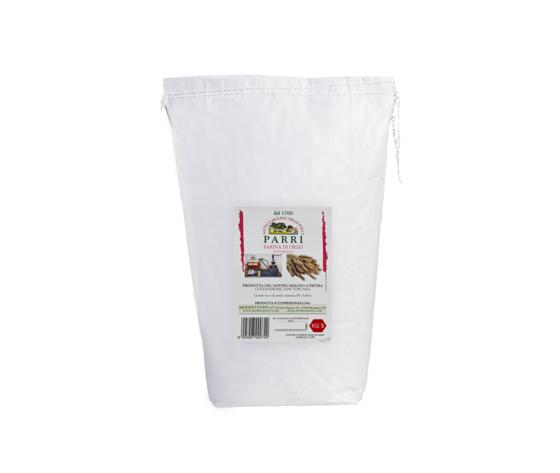 Farina di orzo macinata a pietra confezione da kg 5