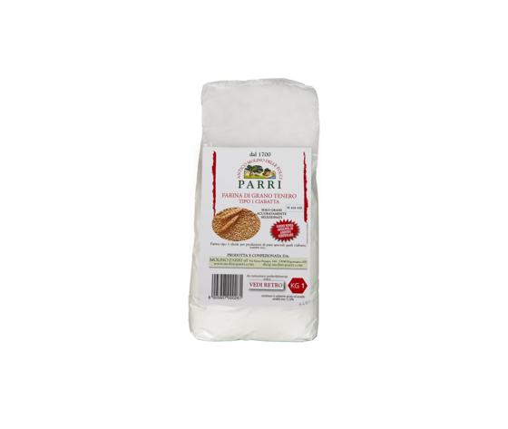 farina tipo 1ciabatta confezione da kg 1