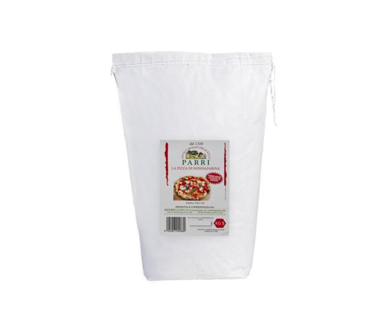 """Farina tipo """"00"""" speciale per pizza confezione da 5kg nonna farina rossa"""