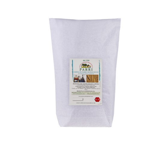 farina di farro monococco da 25 kg in purezza