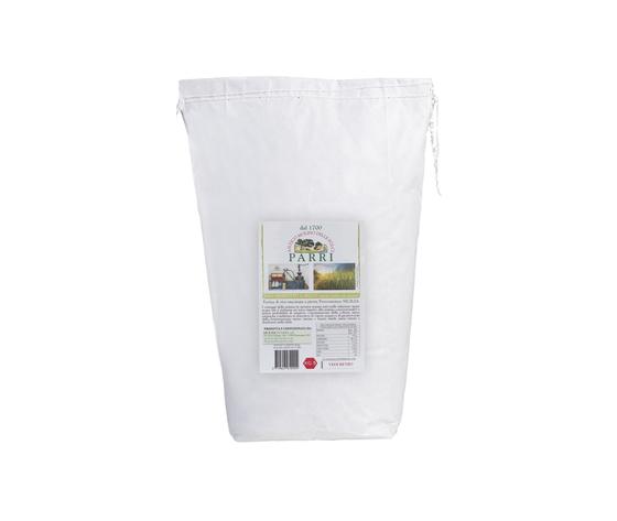 farina di riso prodotto a secco macinata a pietra da kg 5