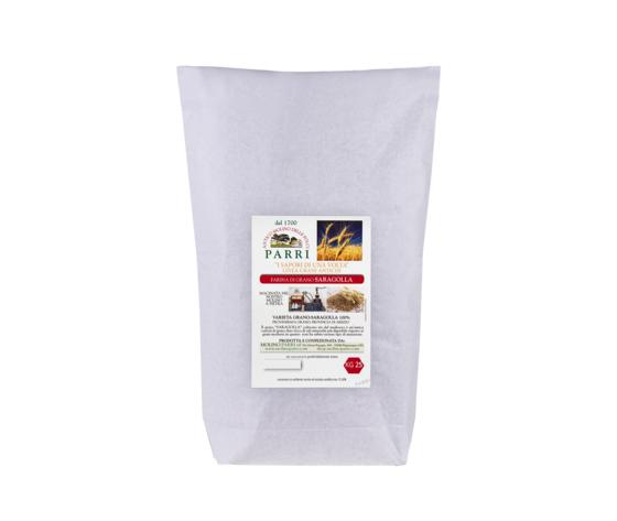 farina di grano Saragolla da kg 25