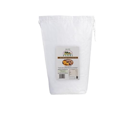 Mix per pane alla curcuma senza additivi da kg 5