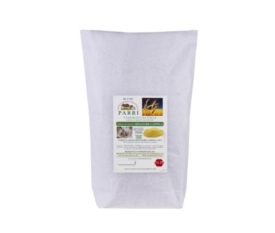 farina di grano Senatore Cappelli da 25 kg