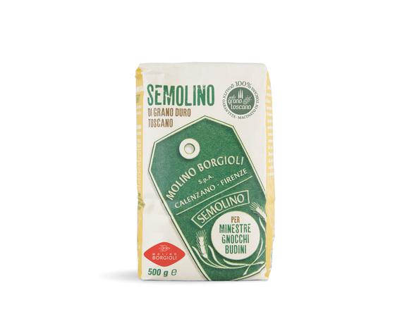 Semolino di grano duro Toscano da 500 g