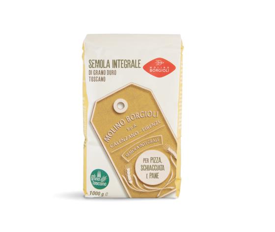 Semola integrale Toscana da kg 1