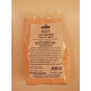 Farina di lenticchie rosse Sartori da 500 g