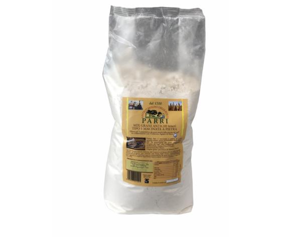 Mix grani antichi tipo 1 macinato a pietra da kg 1