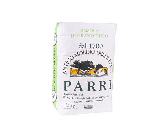 Semola di grano duro confezione da kg 25